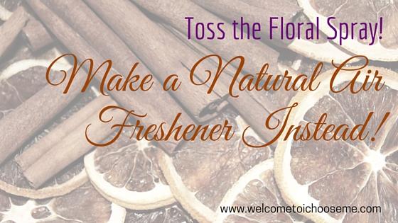 Natural Orange & Cinnamon Air Freshener