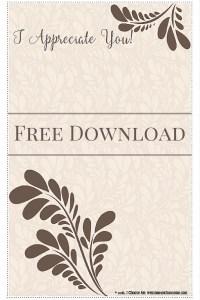 Download Gratitude Stationery