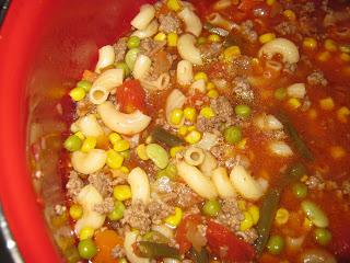 Hamburger Soup~ A Simple Yummy Recipe
