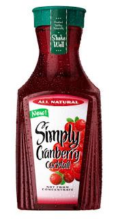 Simply Cranberry Review & Cran Banana Berry Sorbet