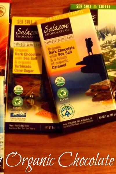 Salazon Organic Dark Chocolate Review & Giveaway