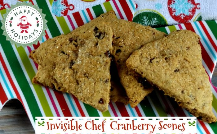 Love baking Cranberry Scones for the holidays