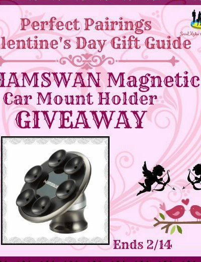 HAMSWAN Magnetic Car Mount Holder Giveaway