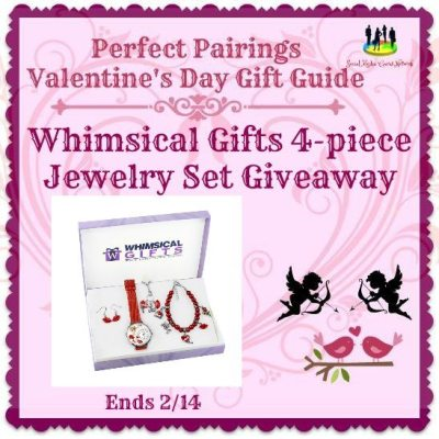 Whimsical Gifts 4-piece Jewelry Set Giveaway