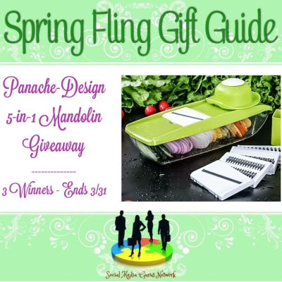 Panache Design 5-In-1 Mandolin Giveaway