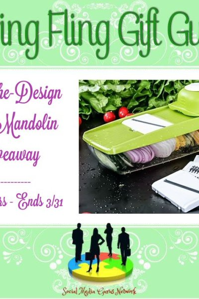 Panache Design 5-In-1 Mandolin Giveaway