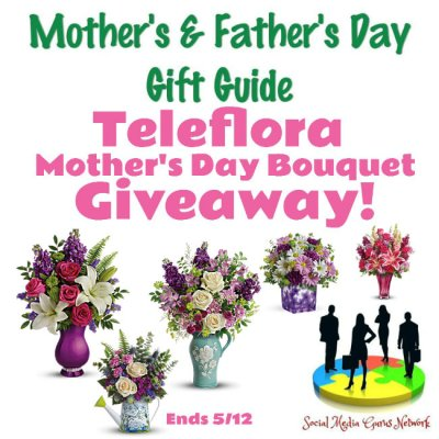 Teleflora Mother's Day Bouquet Giveaway