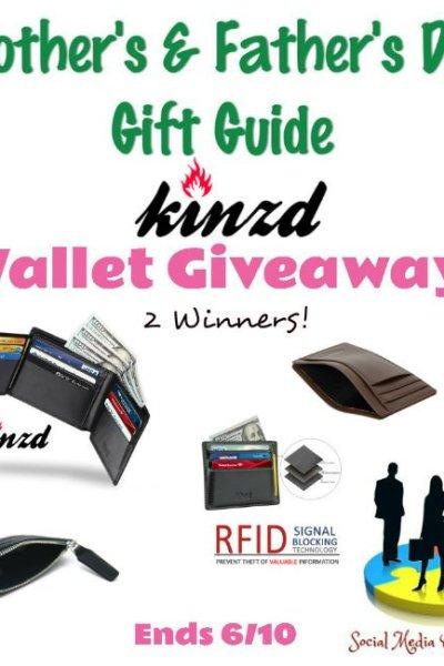 Kinzd Wallet Giveaway 2 Winners