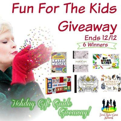 Fun For The Kids Giveaway @SMGurusNetwork @LaurenceKingPub