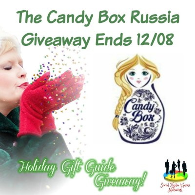 Candy Box Russia Giveaway @SMGurusNetwork @CandyBoxRussia