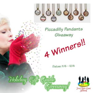 Piccadilly Pendants Giveaway @SMGurusNetwork