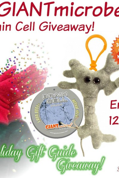 GIANTmicrobes Brain Cell Giveaway @SMGurusNetwork  @GIANTmicrobes