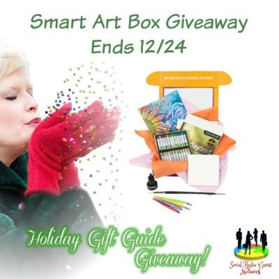 Smart Art Box Giveaway @SMGurusNetwork