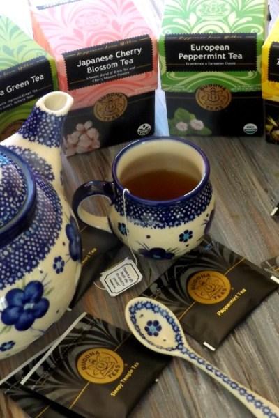 Tea Time With Buddha Teas @BuddhaTeas