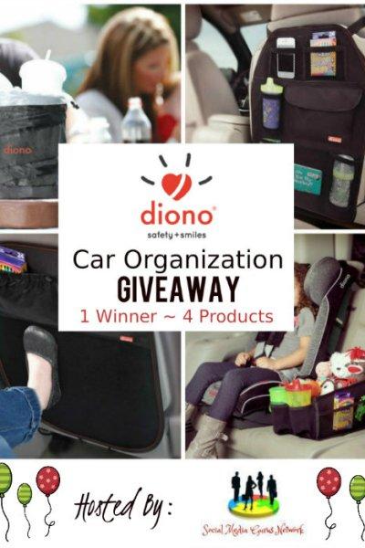 Diono Car Organization Giveaway @diono @SMGurusNetwork