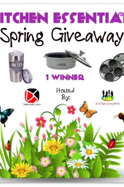 Kitchen Essentials Spring Giveaway @lwwmontel @Viatek @SMGurusNetwork
