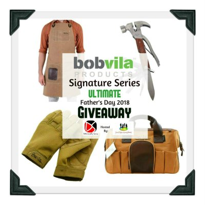 Bob Vila Signature Series Ultimate Father's Day Giveaway @bobvilaproducts @SMGurusNetwork