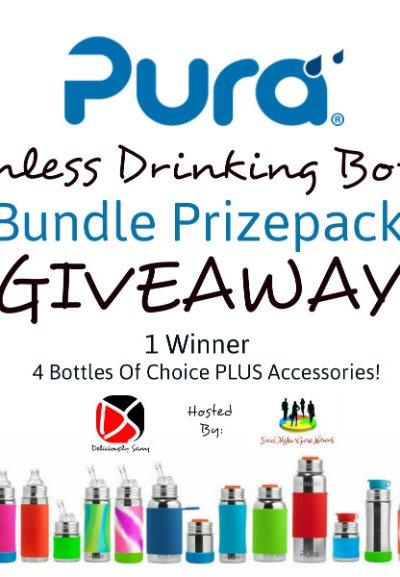 Pura Stainless Drinking Bottles Bundle Prizepack Giveaway @SMGurusNetwork