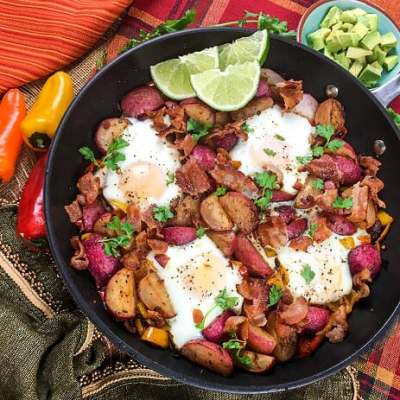 Southwestern Keto  Breakfast Skillet