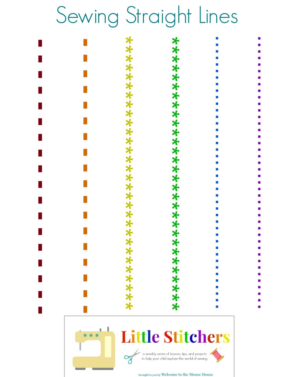 Image Result For How To Sew In A Straight Line With Sewing Machine