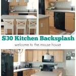 Easy Kitchen Backsplash 30 Target Wallpaper Welcometothemousehouse Com
