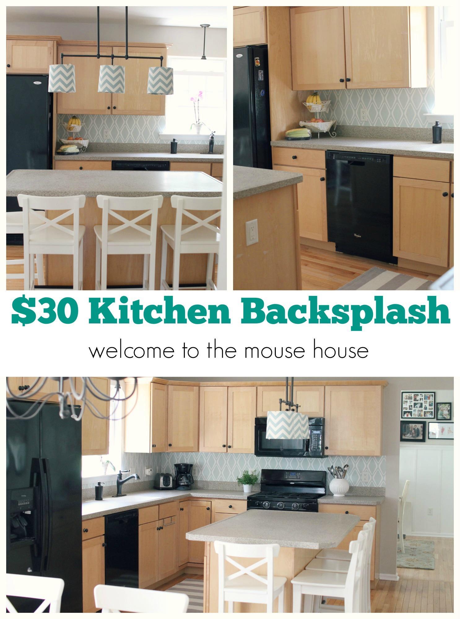 wallpaper kitchen backsplash granite table easy 30 target