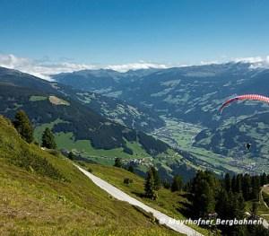 paragliding in Zillertal