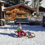 Tristenbach Alm Winter Zillertal