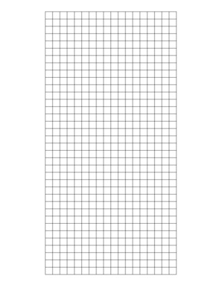 Weld Mesh Sheet Galvanised 2x2 12g 3ft X 6ft