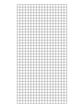 Wire Mesh Sheet Self Colour 2x2 10g 3ft X 6ft