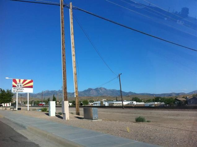 Welcome to Kingman AZ - on historic Route 66