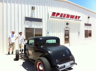 A visit to Speedway Customs in Lake Havasu City.