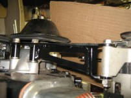 Installed Alternator Bracket 02