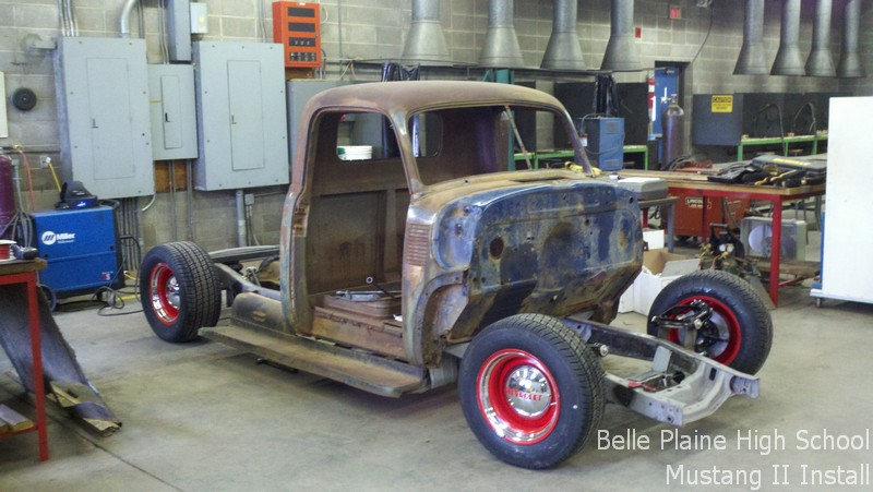 Belle Plaine High School's Chevy pickup