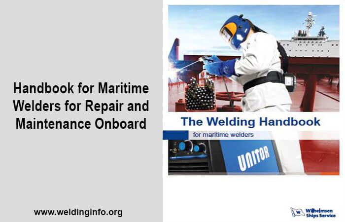 welding handbook for maritime welders