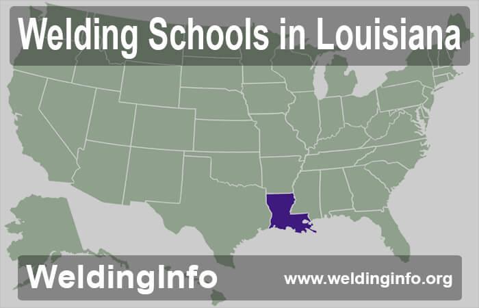welding schools in louisiana
