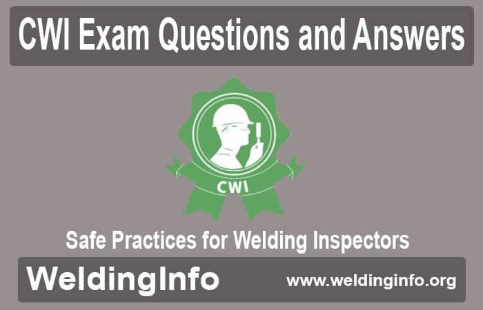 safe practices for welding inspectors