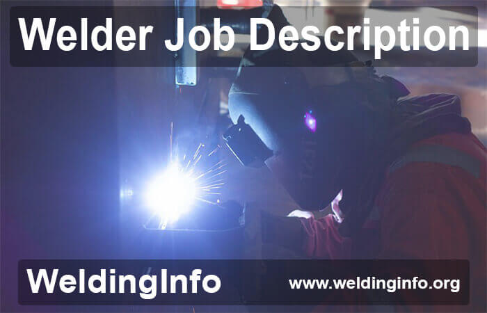 welder job description