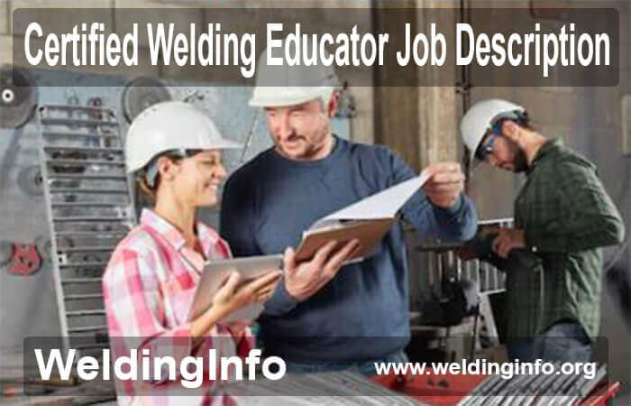 certified welding educator