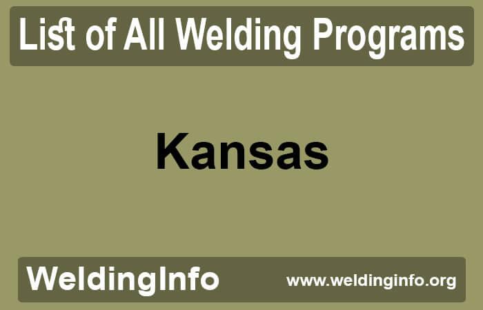 welding programs in kansas