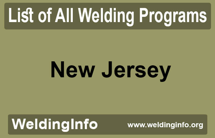 welding programs in new jersey