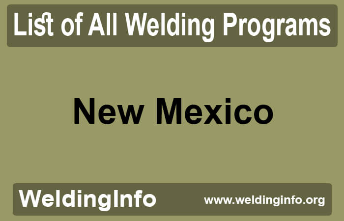 welding programs in new mexico