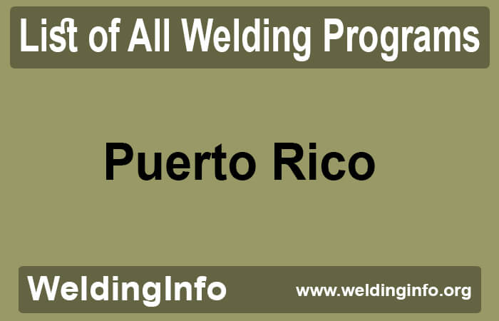 welding programs in puerto rico