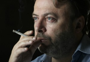 Author and atheist, Christopher Hitchens