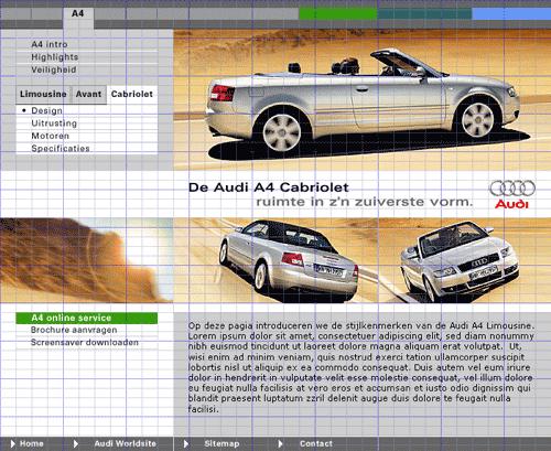 Grid Used on Audio Auto Ad