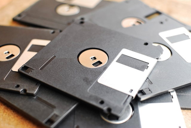 In the early days of malware, floppy disks were the main means of distribution.