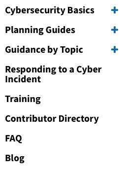 NIST cybersecurity resources for smaller businesses