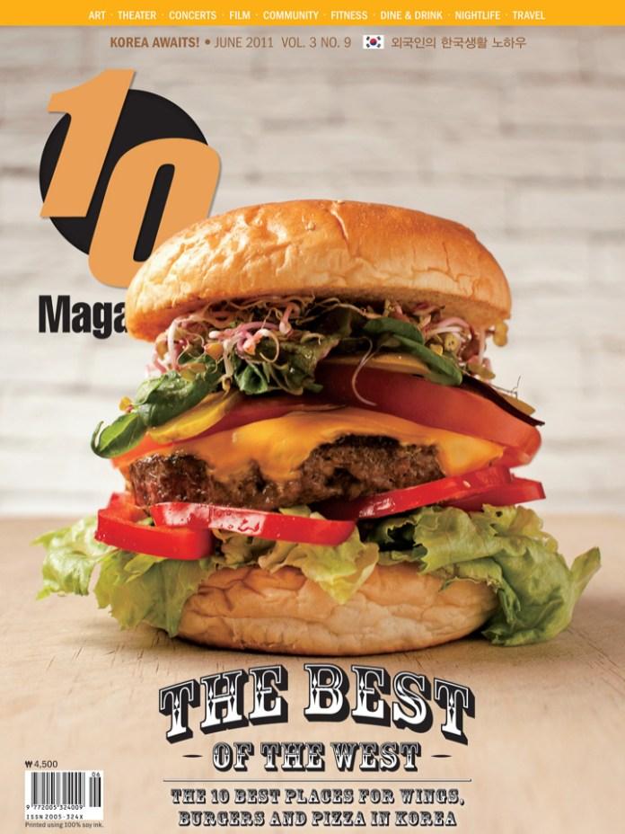 10 Magazine Korea - Cover - Hamburger