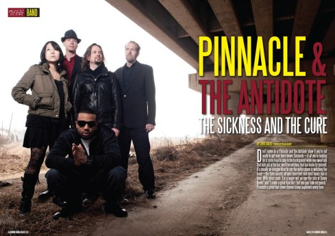 Groove Magazine Korea - Pinnacle and the Antidote