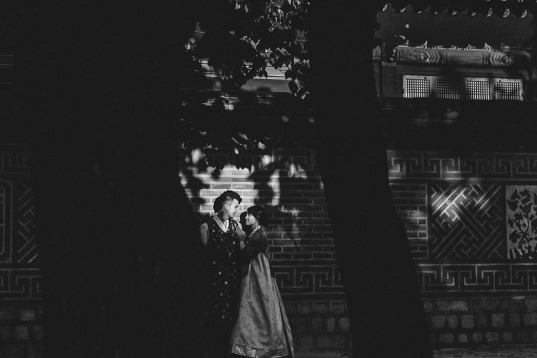 Hanbok Pre-wedding Photography in Seoul - Zack and Ting En